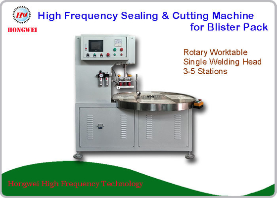 Semi Automatic Blister Cutting Machine , HF Sealing & Cutting Machine