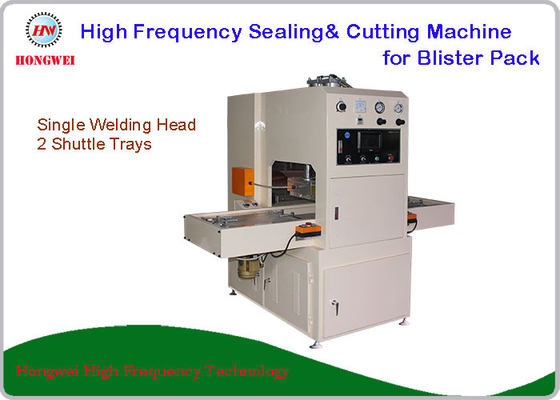 PLC Control HF Cutting Sealing Machine , Toothbrush Blister Pack Sealing Machine