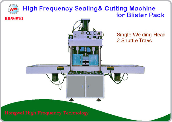 Semi Automatic High Frequency Welding Machine For Sealing And Cutting Blister Pack