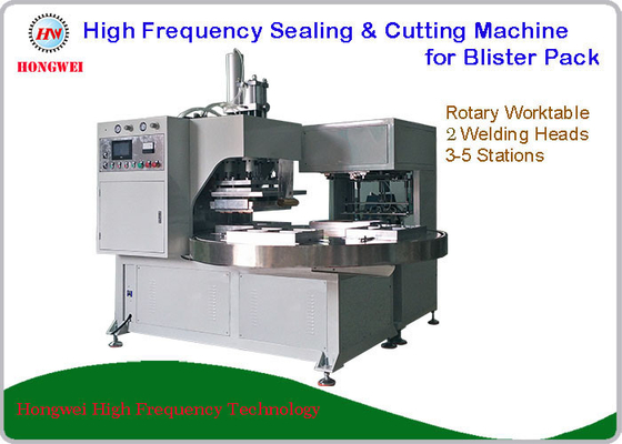Rotary Worktable Double Head Welding Machine With Low Power Consumption