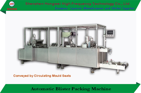 Servo Motor Driven Automatic Blister Packing Machine High Frequency For Crafts / Gifts